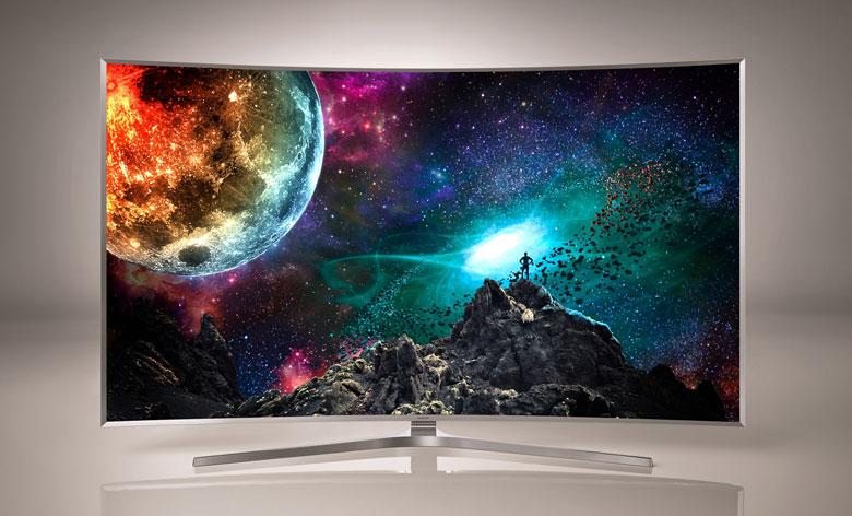 televizorul 4k ultra hd Samsung js9500