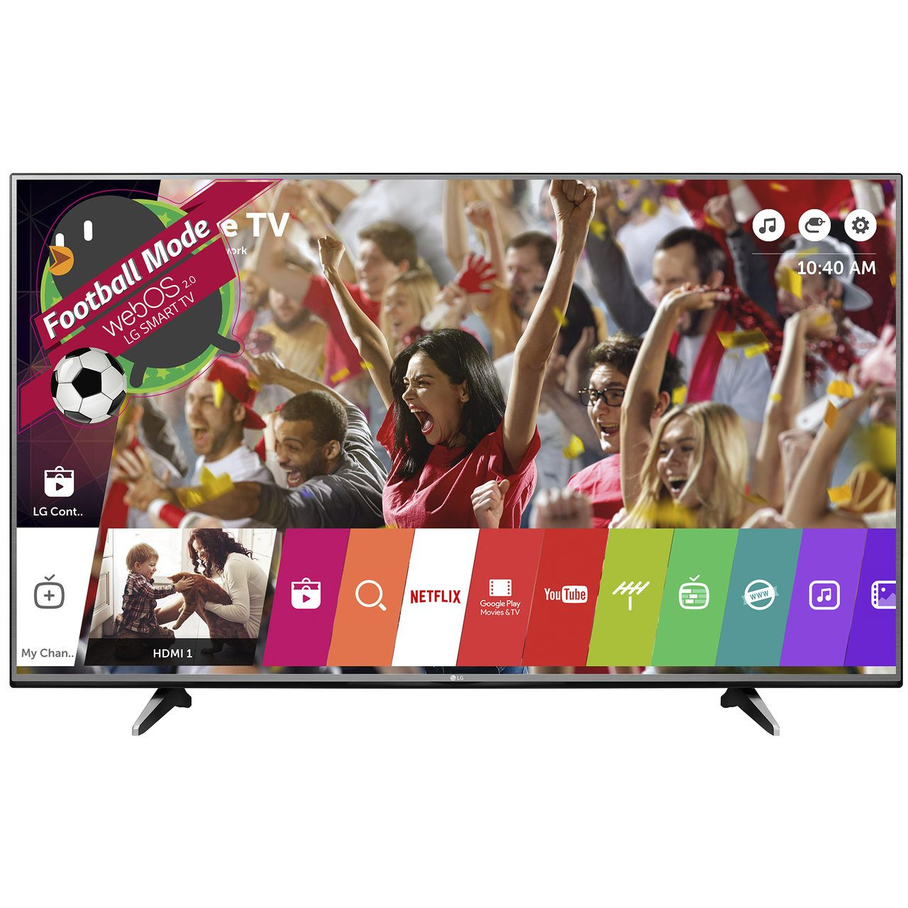 Televizor LED Smart LG, 139 cm, 55UH600V, 4K Ultra HD