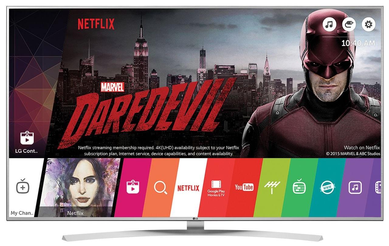 Televizor SUHD Smart LG, 123 cm, 49UH7707, 4K Ultra HD, Wi-Fi