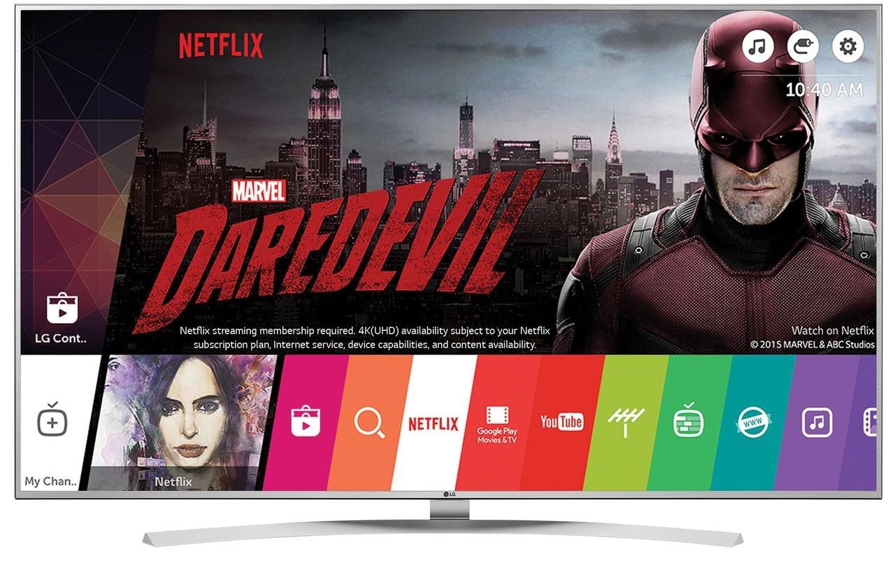 Televizor SUHD Smart LG, 139 cm, 55UH7707, 4K Ultra HD