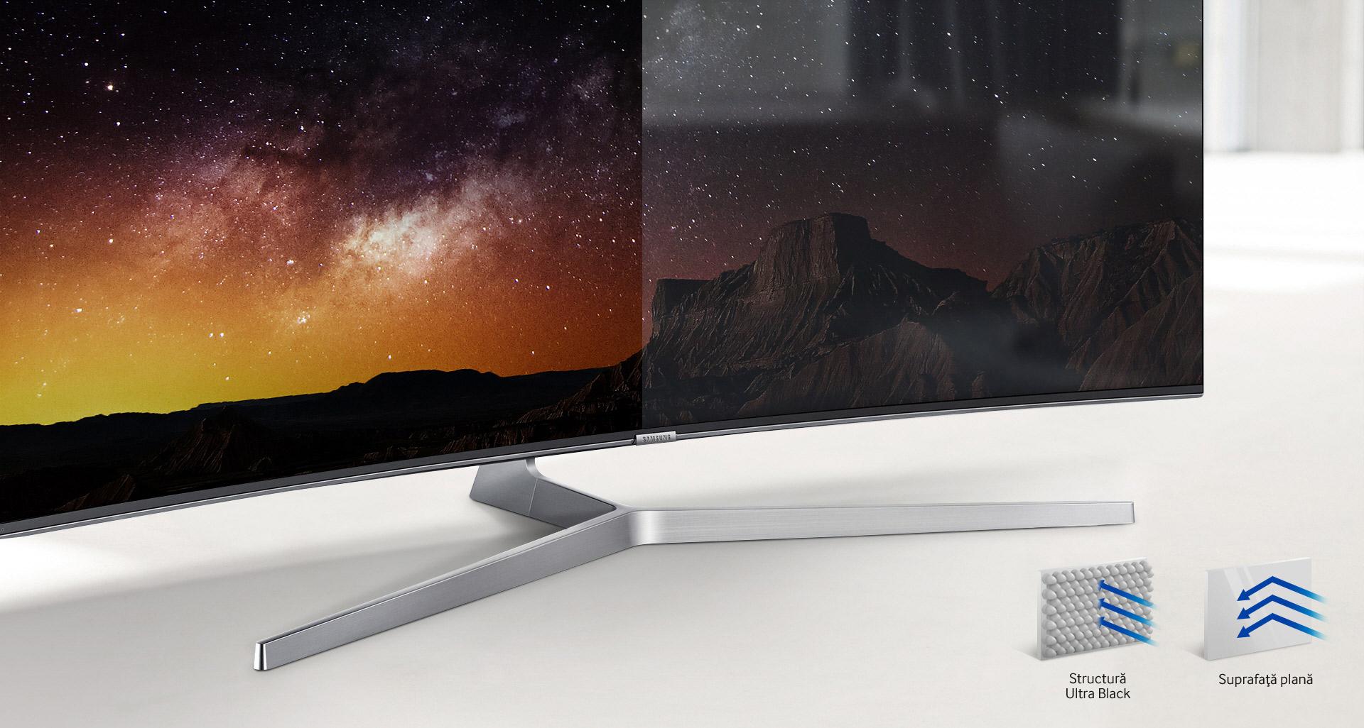Televizor SUHD Smart Samsung, 138 cm, 55KS8002, 4K Ultra HD